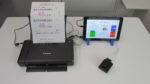 クリックで拡大写真(血管年齢測定システム(タブレット))
